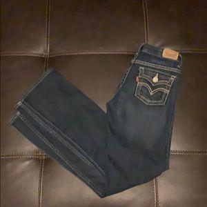 Levi's bootcut Girls Jeans 14 Slim